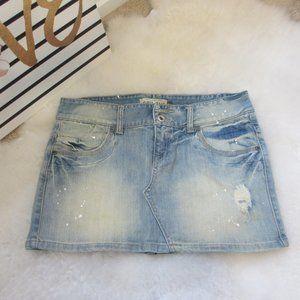 Denim Skirt Light Wash Papaya Jeans